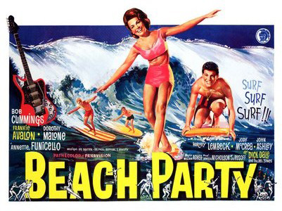 1176-beach-party-surfing-movie-poster-1960s