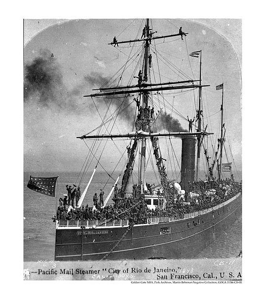 535px-CA-boys-on-board-the-city-of-rio-de-janeiro-mail-steamer-1898