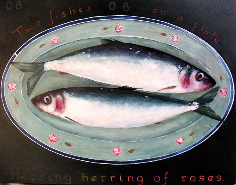 Herring_of_roses_weston_painting_mevagissey